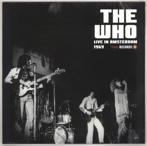 The Who Live In Amsterdam 1969 - Sealed vinyl LP album (LP record) UK WHOLPLI739114