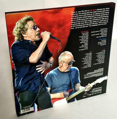 The Who Live In Hyde Park box set UK WHOBXLI741560
