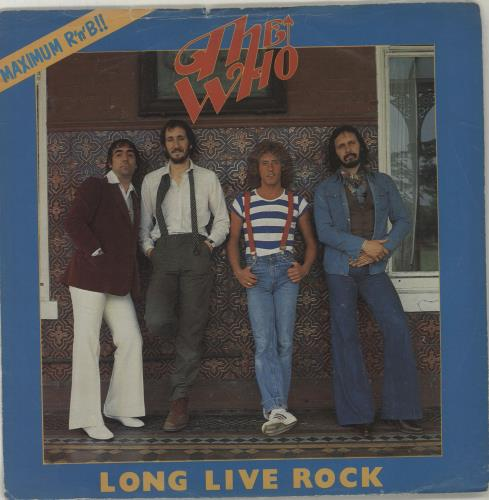 """The Who Long Live Rock + Sleeve 7"""" vinyl single (7 inch record) UK WHO07LO56873"""