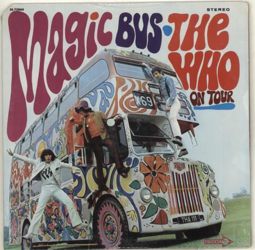 The Who Magic Bus vinyl LP album (LP record) US WHOLPMA380431