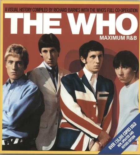 The Who Maximum R&B book UK WHOBKMA281324