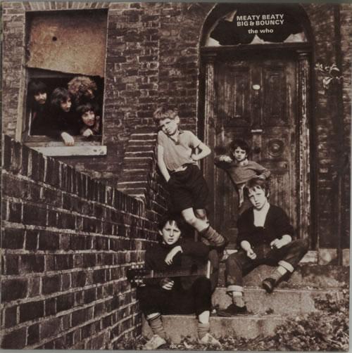 The Who Meaty Beaty Big & Bouncy vinyl LP album (LP record) UK WHOLPME298943