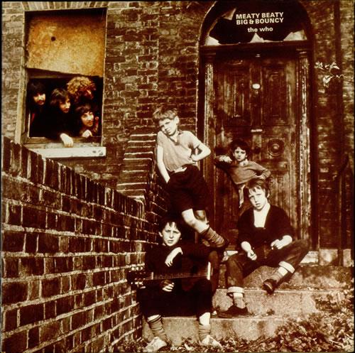 The Who Meaty, Beaty, Big & Bouncy - 3rd vinyl LP album (LP record) UK WHOLPME541450