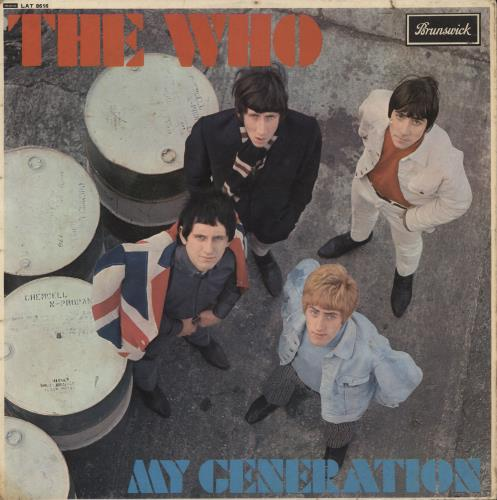 The Who My Generation - 1st - VG vinyl LP album (LP record) UK WHOLPMY575380