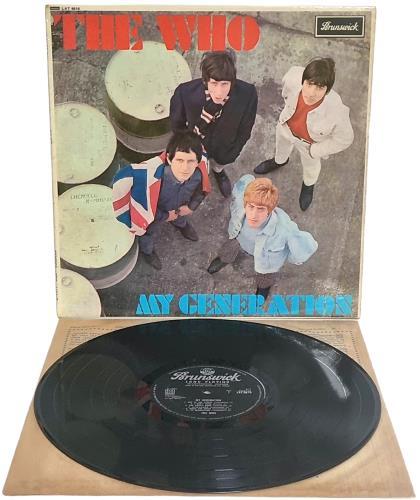 The Who My Generation - EX vinyl LP album (LP record) UK WHOLPMY303257