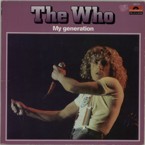 The Who My Generation - EX vinyl LP album (LP record) French WHOLPMY589849