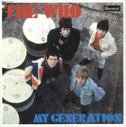 The Who My Generation - Mono - 180g - Sealed vinyl LP album (LP record) UK WHOLPMY724332
