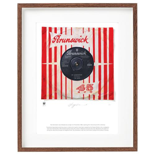 The Who My Generation - SuperSizeArt Numbered Print artwork UK WHOARMY731119