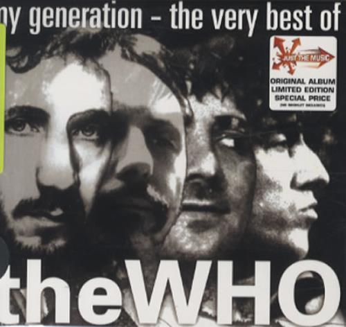 The Who My Generation The Very Best Of Australian Cd
