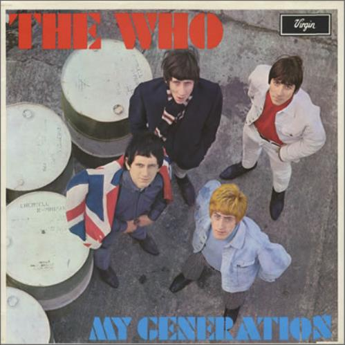 The Who My Generation vinyl LP album (LP record) UK WHOLPMY375910