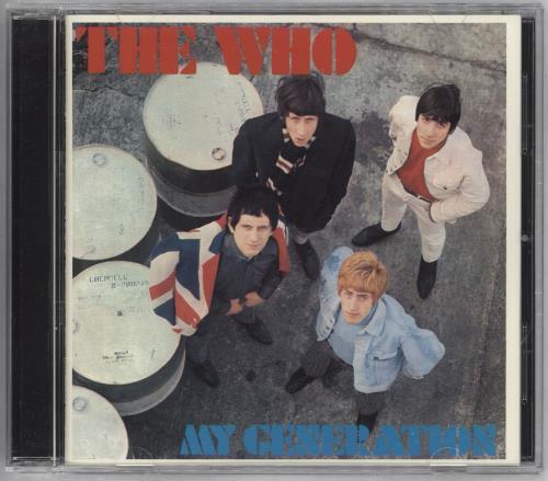 The Who My Generation super audio CD SACD Japanese WHOSAMY730186