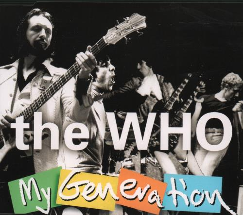 "The Who My Generation CD single (CD5 / 5"") German WHOC5MY85826"