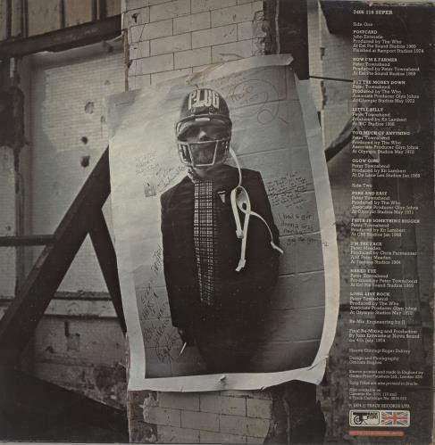 The Who Odds & Sods - 1st + Poster - VG vinyl LP album (LP record) UK WHOLPOD754527