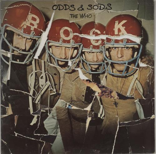 The Who Odds & Sods - 1st vinyl LP album (LP record) UK WHOLPOD725556