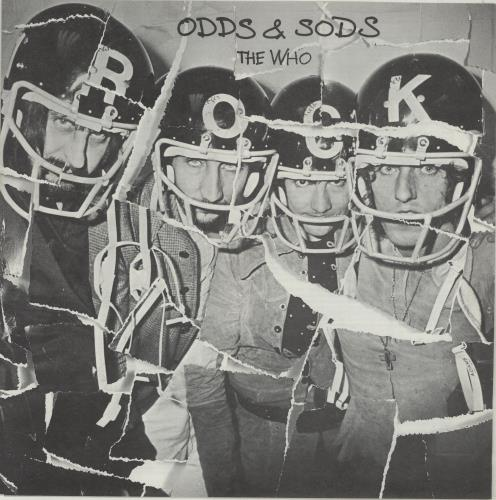 The Who Odds & Sods - 2nd + Poster vinyl LP album (LP record) UK WHOLPOD451872