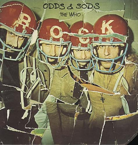 The Who Odds & Sods vinyl LP album (LP record) US WHOLPOD380337