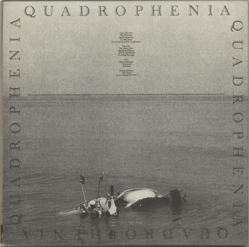 The Who Quadrophenia - VG 2-LP vinyl record set (Double Album) UK WHO2LQU604594