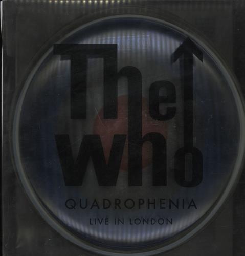 The Who Quadrophenia: Live In London box set US WHOBXQU749341