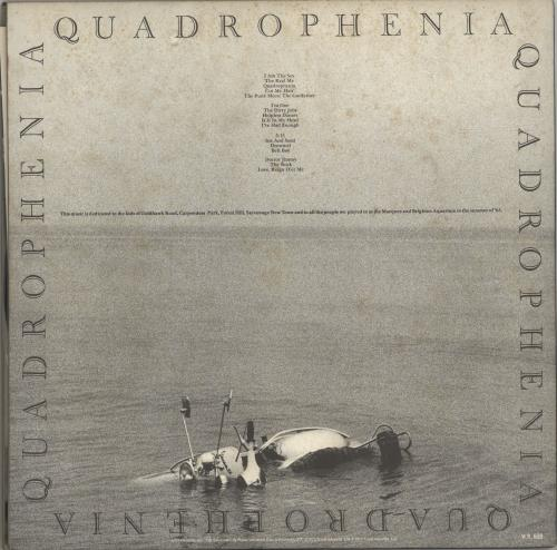 The Who Quadrophenia 2-LP vinyl record set (Double Album) Japanese WHO2LQU123618