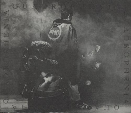 The Who Quadrophenia 2 CD album set (Double CD) UK WHO2CQU243300
