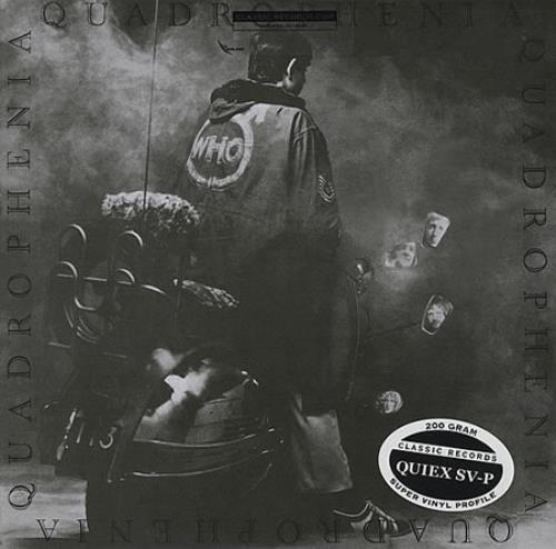 The Who Quadrophenia 2-LP vinyl record set (Double Album) US WHO2LQU417466