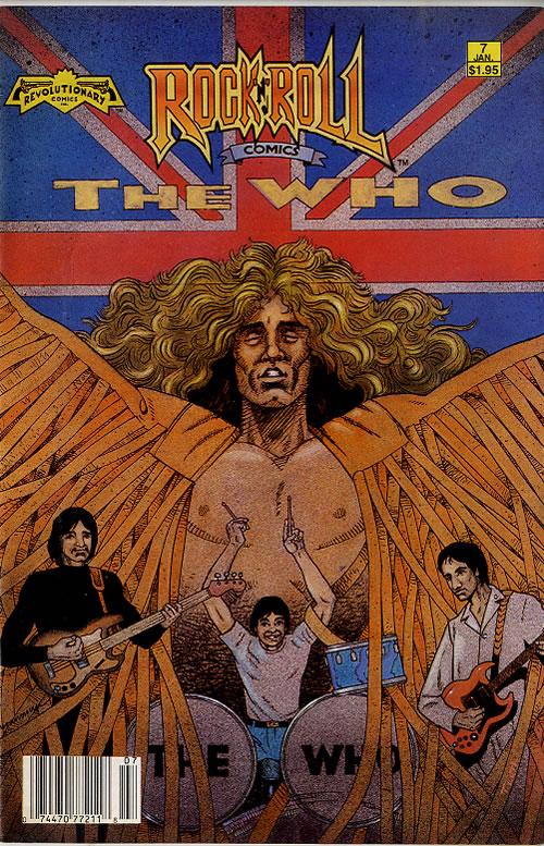 The Who Rock 'N' Roll Comics magazine US WHOMARO177409