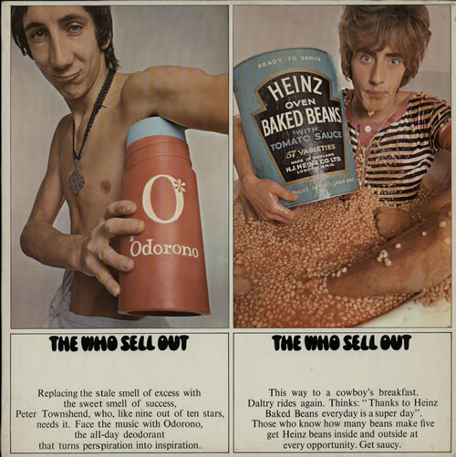 The Who Sell Out - 1st - EX vinyl LP album (LP record) UK WHOLPSE565079