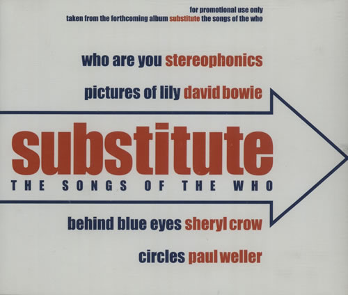 """The Who Substitute EP CD single (CD5 / 5"""") UK WHOC5SU185829"""