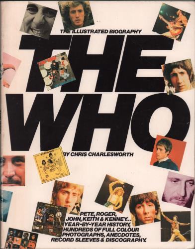 The Who The Illustrated Biography book UK WHOBKTH664897