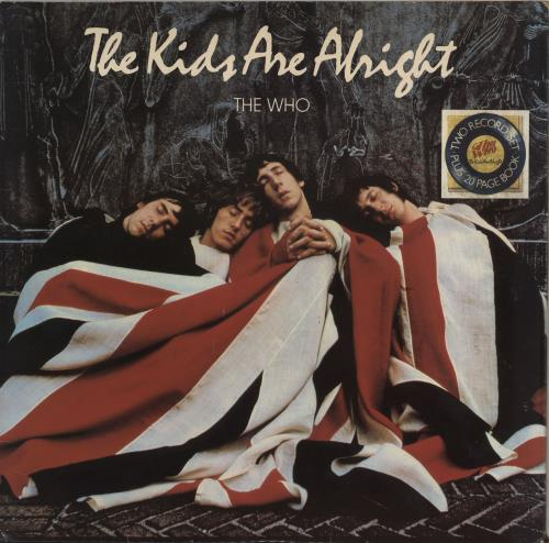The Who The Kids Are Alright + booklet + insert- EX 2-LP vinyl record set (Double Album) UK WHO2LTH574405
