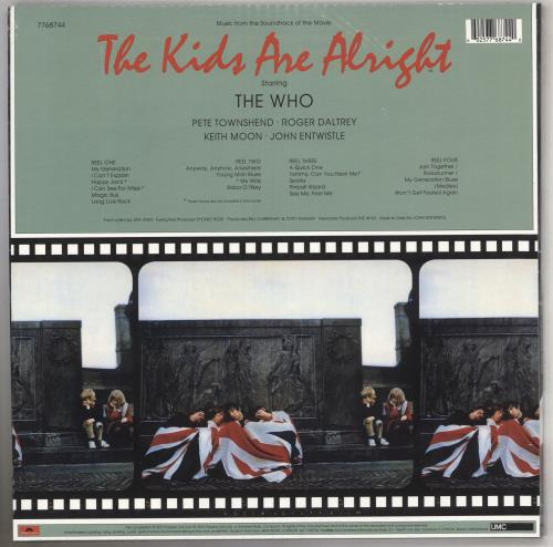 The Who The Kids Are Alright - 180gm - Sealed 2-LP vinyl record set (Double Album) UK WHO2LTH740839