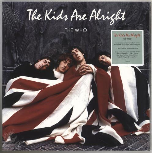 The Who The Kids Are Alright - 180gm Vinyl - Sealed 2-LP vinyl record set (Double Album) UK WHO2LTH740839