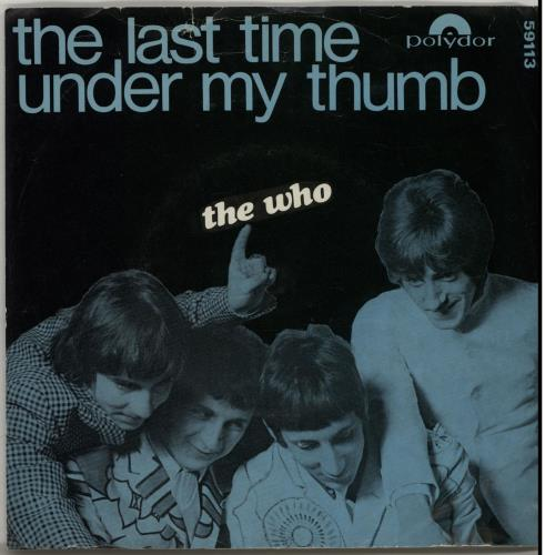 """The Who The Last Time 7"""" vinyl single (7 inch record) Norwegian WHO07TH640828"""