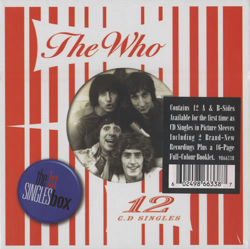 The Who The Singles Box box set UK WHOBXTH277883