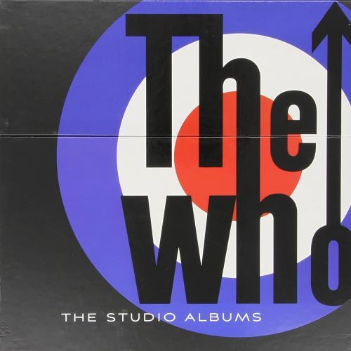 The Who The Studio Albums vinyl LP album (LP record) UK WHOLPTH755275