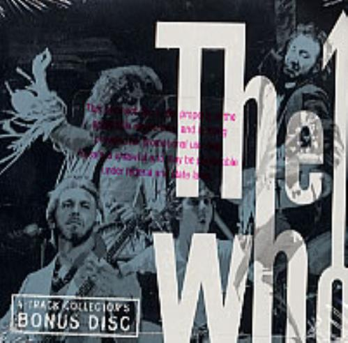 The Who The Ultimate Collection 3-CD album set (Triple CD) US WHO3CTH220894