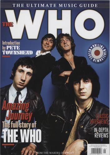 The Who The Ultimate Music Guide magazine UK WHOMATH765669