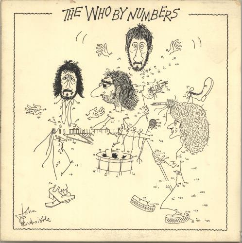 The Who The Who By Numbers - EX vinyl LP album (LP record) Dutch WHOLPTH349718