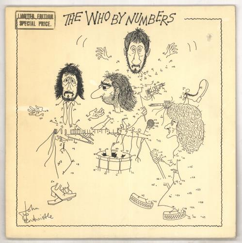 The Who The Who By Numbers - gold stamp vinyl LP album (LP record) Dutch WHOLPTH597003