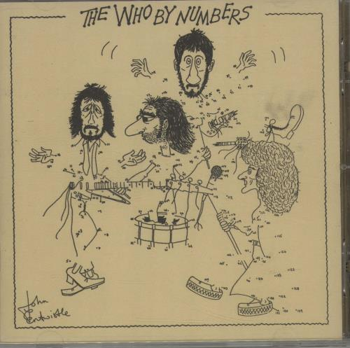 The Who The Who By Numbers CD album (CDLP) UK WHOCDTH660506