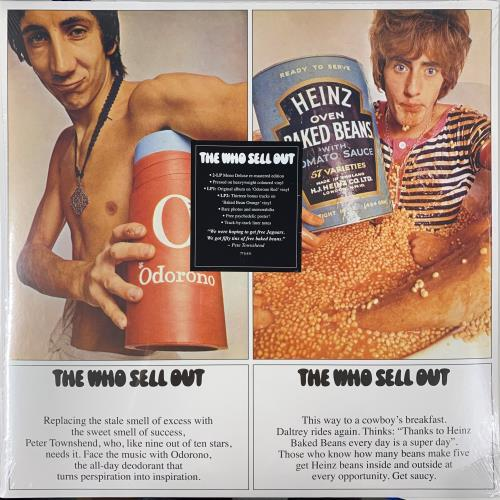 The Who The Who Sell Out - Mono Remastered - Red & Orange Vinyl - Sealed 2-LP vinyl record set (Double Album) UK WHO2LTH768049