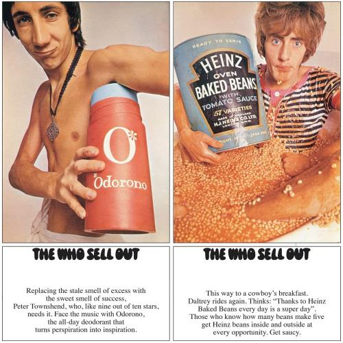 The Who The Who Sell Out - Stereo Remastered Black Vinyl + Poster - Sealed 2-LP vinyl record set (Double Album) UK WHO2LTH767943