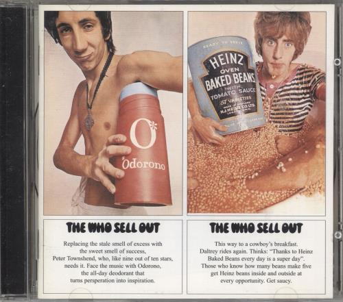 The Who The Who Sell Out CD album (CDLP) UK WHOCDTH741920