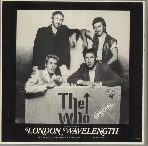 The Who The Who Special Vinyl Box Set US WHOVXTH77943