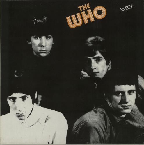 The Who The Who vinyl LP album (LP record) German WHOLPTH644819