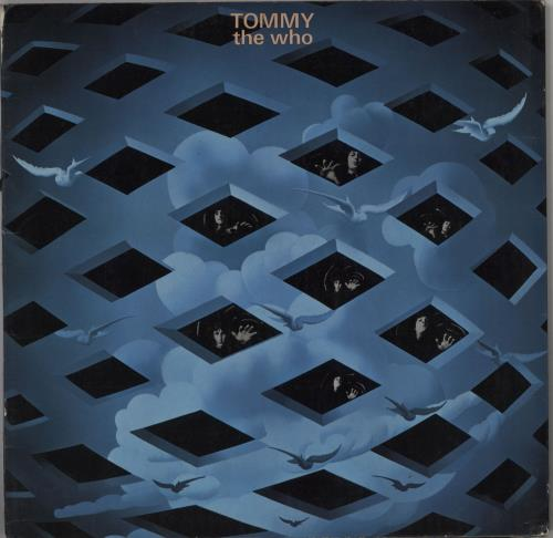 The Who Tommy - 1st - EX 2-LP vinyl record set (Double Album) UK WHO2LTO247812