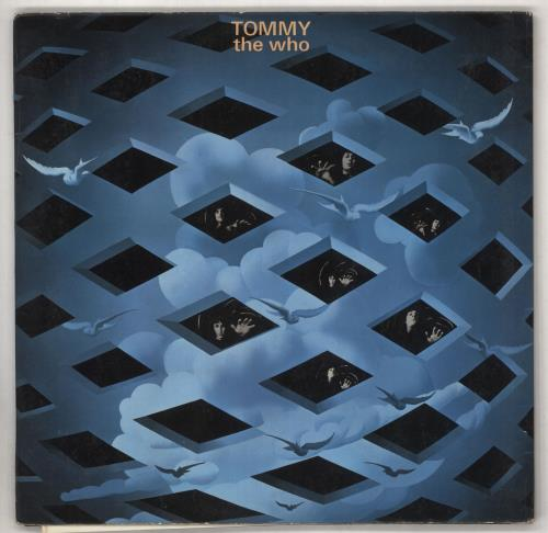 The Who Tommy - 1st - VG+ 2-LP vinyl record set (Double Album) UK WHO2LTO585342