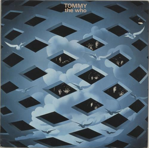 The Who Tommy - 2nd - EX 2-LP vinyl record set (Double Album) UK WHO2LTO568778