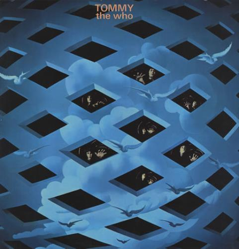 The Who Tommy - 2nd - VG 2-LP vinyl record set (Double Album) German WHO2LTO357676