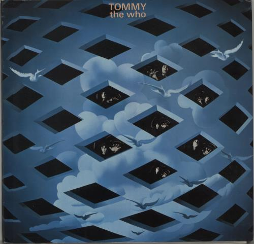 The Who Tommy - 2nd 2-LP vinyl record set (Double Album) German WHO2LTO660607